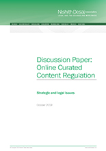 Online Curated Content Regulation