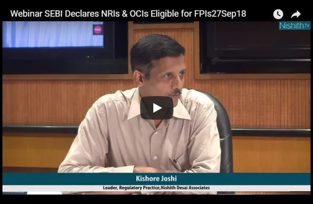 NDA Webinar on SEBI Declares NRIs & OCIs Eligible for FPIs, Prescribes Additional KYC Norms